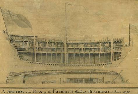 Boat Building Courses London by Ship Plan Prints Scanning Royal Museums Greenwich