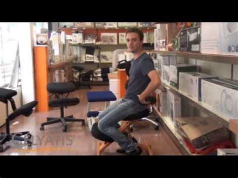 si 232 ge ergonomique assis genoux contre le mal de dos