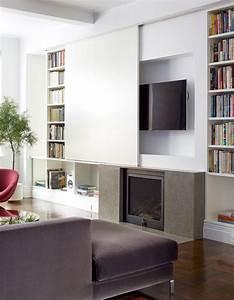 Fernseher Verstecken Möbel : die kombination von tv und kamin 8 fireplaces indoor pinterest wohnzimmer fernseher ~ Markanthonyermac.com Haus und Dekorationen