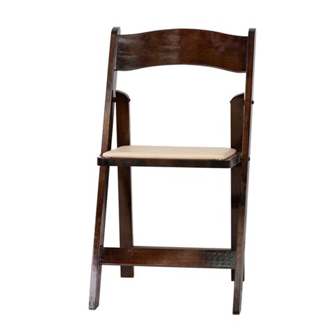 hercules series fruitwood wood folding chair with vinyl padded seat xf 2903 fruit wood gg by