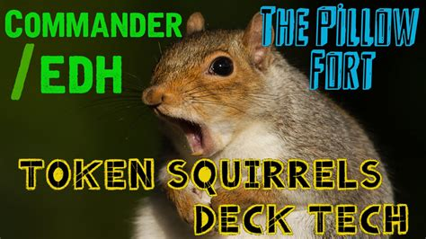 Mtg Squirrel Tribal Deck by Tribal Token Squirrels Rhys The Redeemed Mtg