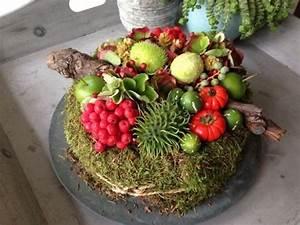 Einfache Herbstdeko Tisch : herbstdeko aus naturmaterialien selber machen 33 tolle und ganz einfache ideen ~ Markanthonyermac.com Haus und Dekorationen