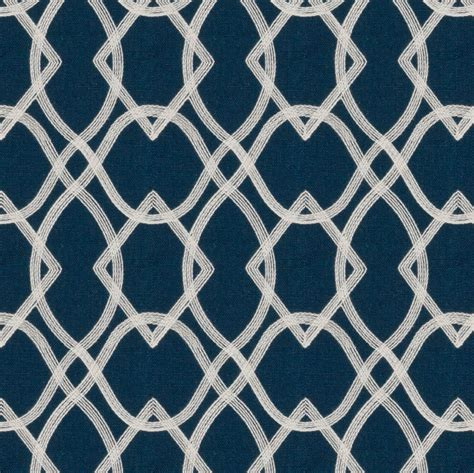 navy blue embroidered curtain fabric by the yard custom navy