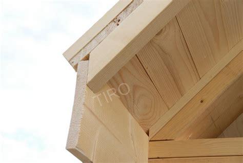 4 planche de rive sur facade maisons ossature bois en kit tiro