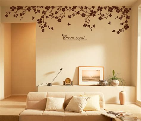 90 quot x 22 quot large vine butterfly wall decals removable decorative decor stickers ebay