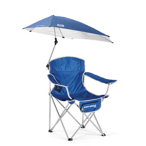 sport brella chair blue