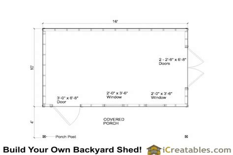 10x16 shed floor plans wooden shed 10 x 12 gambrel shed plans 20x30 garage