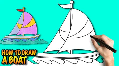 How To Draw A Old Boat by Drawn Yacht Old Boat Pencil And In Color Drawn Yacht Old