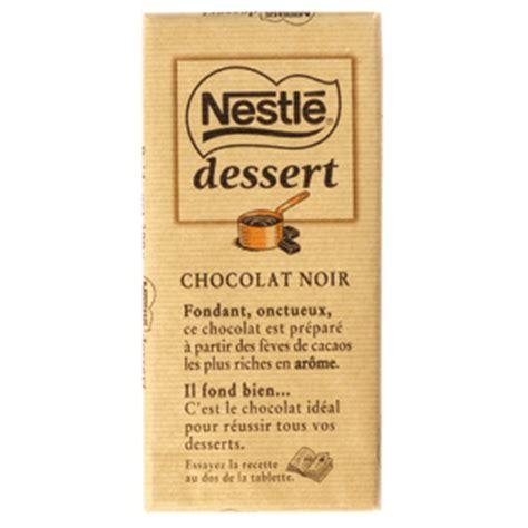 nestl 233 dessert nestl 233 chocolat en tablette calories 533 kcal protides 5 2 g glucides