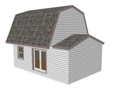 dorshed instant get gambrel roof shed plans 12x20