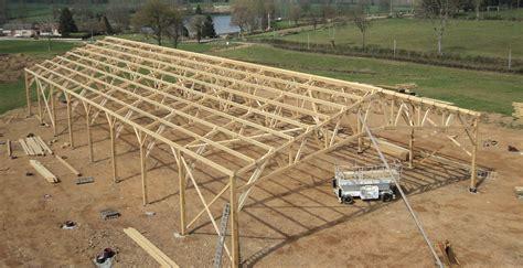 les charpentes de nos b 226 timents et hangars agricoles en bois roin 233
