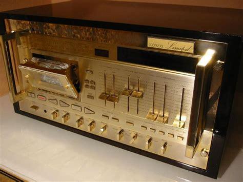 nakamichi 1000zxl gold the highest peak cassette deck of