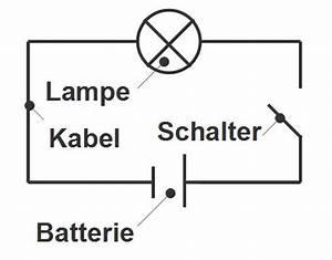 Lampe Mit Bewegungsmelder Und Schalter : elektrische schaltungen physik online lernen ~ Markanthonyermac.com Haus und Dekorationen