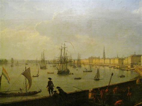 vue du port de bordeaux tableau de joseph vernet le de cbx41