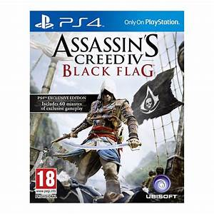 Assassin's Creed 4 - Black Flag - PS4   Top Achat