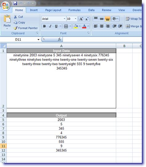 excel 2010 vba array data types declaring variables using dim statement variable names vba