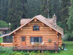 maison en rondins de bois brut chalet cabane