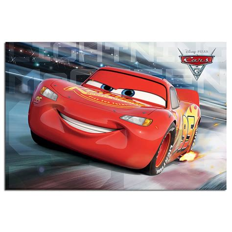 Cars 3 Lightning Mcqueen Race Poster Iposters