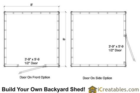 8x8 saltbox shed plans saltbox shed storage shed plans icreatables