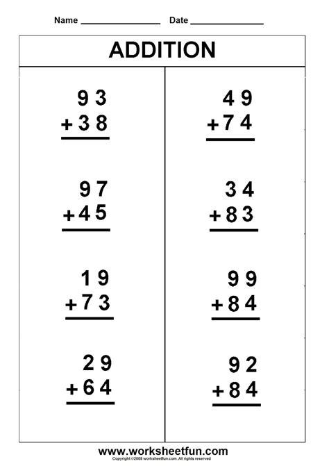 Kids Math Sheets Worksheet Mogenk Paper Works