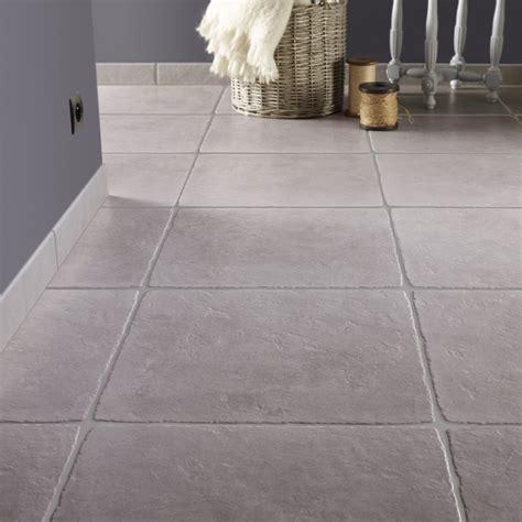 carrelage sol et mur gris effet toscane l 49 x l 49 cm leroy merlin