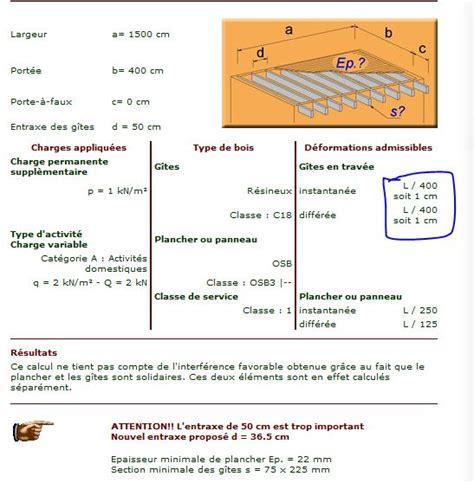 calcul section poutres bois et solives 18 messages page 2