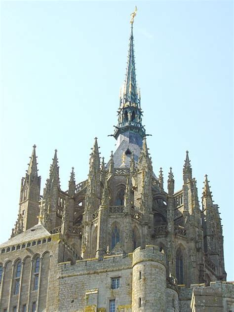 mont michel statue images frompo 1