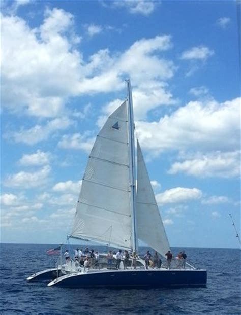 Island Breeze Catamaran Boca Raton by Island Breeze 55 Ft Sailing Catamaran Palm Breeze
