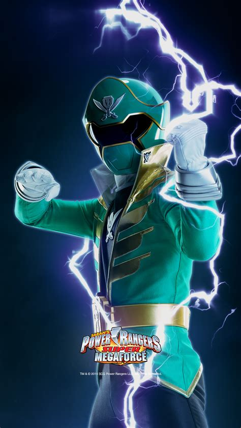 green megaforce ranger the power rangers photo 36570279 fanpop