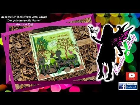 "3d Bilderrahmenbuchkarte ""der Geheimnisvolle Garten"