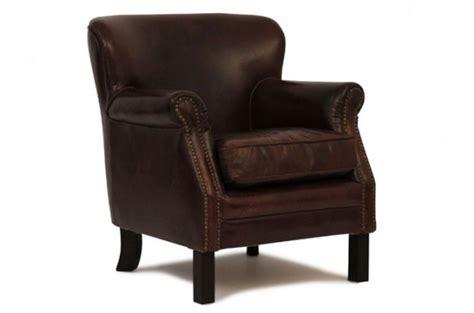 fauteuil club vintage cuir vieilli fauteuils classiques pas cher