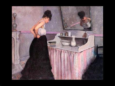 un motif tr 232 s fr 233 quent en peinture la femme 224 sa toilette site du coll 232 ge frank