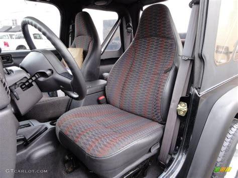 1999 jeep wrangler interior agate interior 1999 jeep wrangler sport 4x4 photo