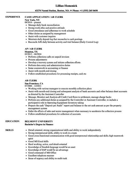 Ar Clerk Resume Samples  Velvet Jobs. Software Developer Resume Sample. Great Resume Formats. Hospitality Objective Resume. Resume Format For Computer Science Students. Fast Food Management Resume. Paraprofessional Resume Sample. Mixologist Resume Sample. Janitor Job Duties Resume