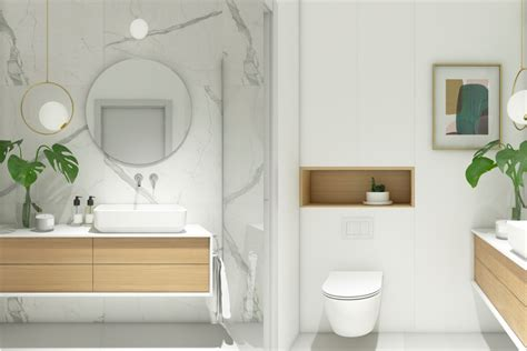 40 Modern Minimalist Style Bathrooms