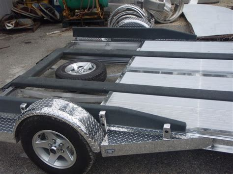 Quick Slick Airboat by Who Makes The Nicest Aluminum Airboat Trailer These Days