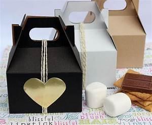 100 Mini Gable Gift Boxes, Party Favor Boxes, Wedding ...