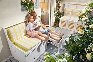 Balkonmöbel Für Kleinen Balkon : modulare balkonm bel selber bauen ~ Markanthonyermac.com Haus und Dekorationen