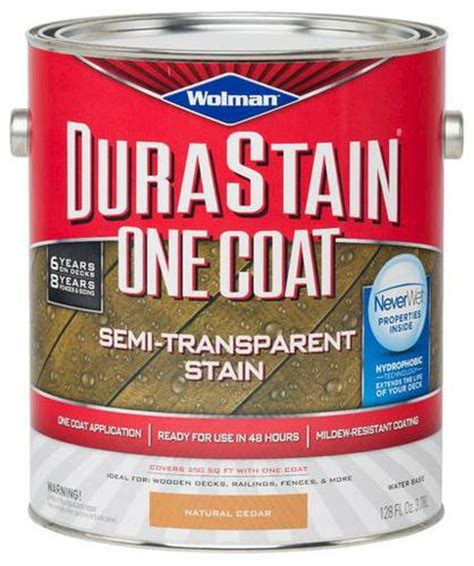 wolman durastain 174 one coat semi transparent stain
