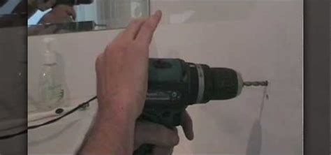 how to drill a in a ceramic tile nifty trick