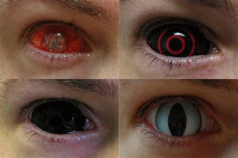 Prescription Contacts Halloween Uk by Halloween Contacts Lenses Oh My World