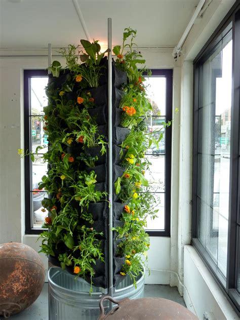 Indoor Vertical Flower Vegetable Garden With Recycled