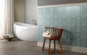 Vintage Fliesen Bad : stilvolle badezimmerfliesen bild 8 sch ner wohnen ~ Markanthonyermac.com Haus und Dekorationen