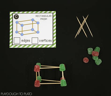 Gumdrop Christmas Tree Stem by Gumdrop Stem Structures Playdough To Plato