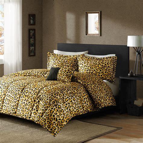 leopard bedding