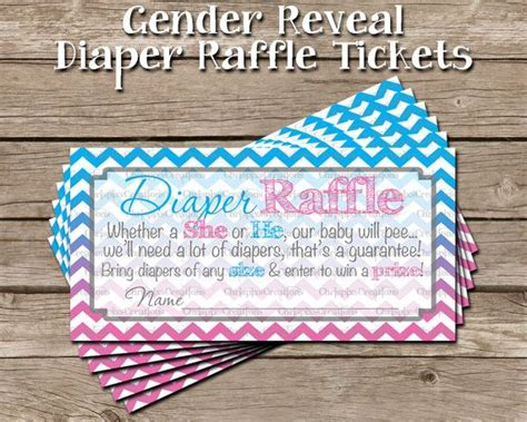 This Custom Gender Reveal Diaper Raffle Ticket Print Is How To Build An Outdoor Fire Pit Cheap Diy Backyard Patio Gas Table Pits The Store Burning Rocks For In Wire Mesh