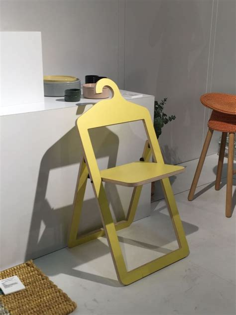 yellow folding umbra chair home decorating trends homedit