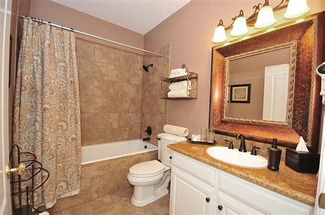Color Scheme Cream And Beige, Bathroom Tile