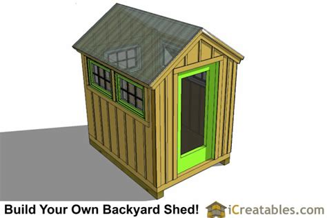6x8 greenhouse shed plans storage shed plans icreatables