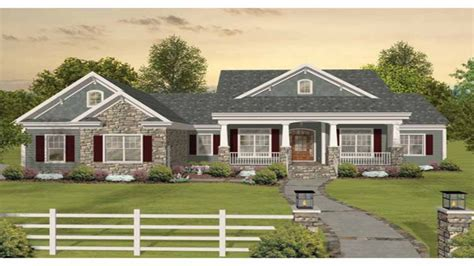 images one level country house plans craftsman one story ranch house plans one story craftsman
